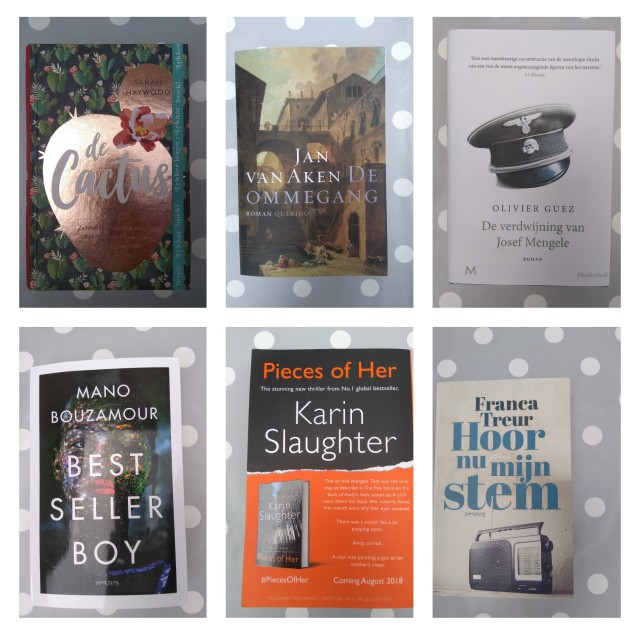 collage boeken zomer lezen